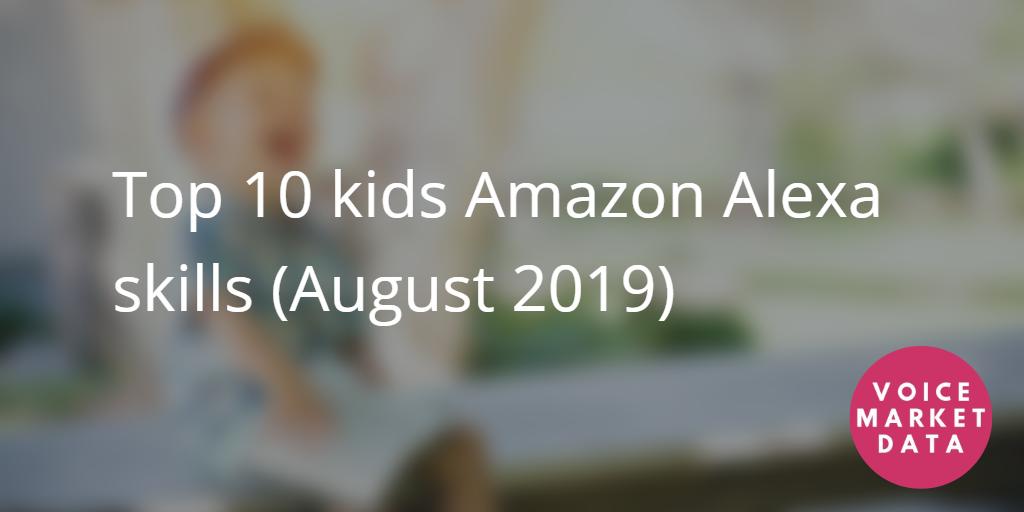 Top 10 kids amazon alexa skills