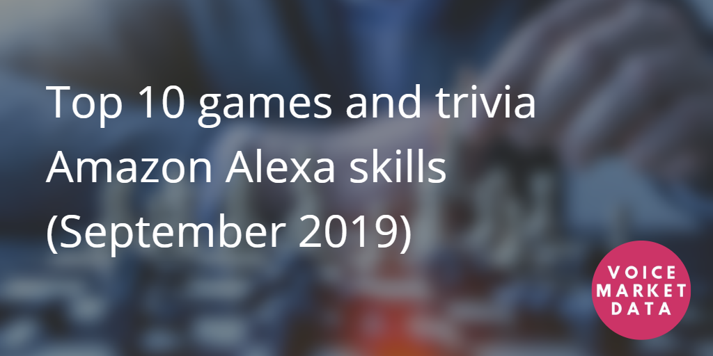 top 10 games and trivia for Amazon alexa
