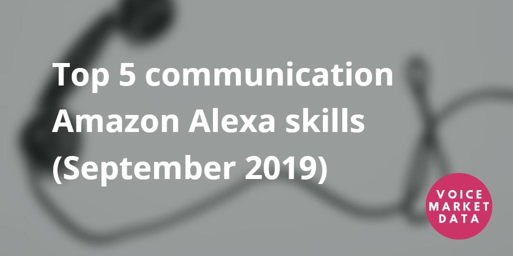 Analysis Of The Uk Amazon Alexa Marketplace June 2020 Voice Market Data